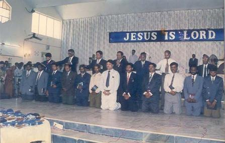 Ordination of J.V. Srikanth
